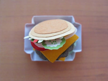 Paperart Burger